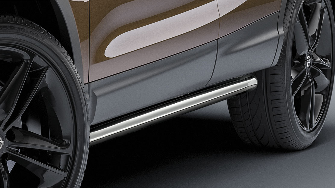 SIDE STYLING BARS (RVS)
